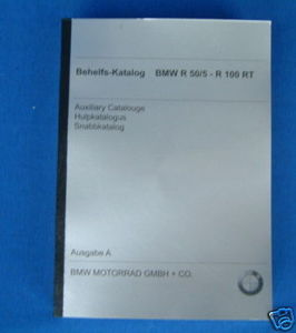 Behelfskatalog, Aux. Catalouge R50/5-R100RT 1981