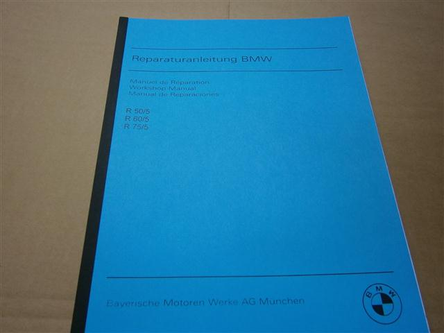 Workshop Manual R50/5,60/5,75/5 in english